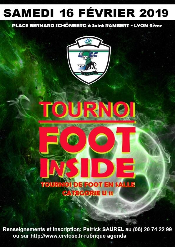 Tournoi en salle 2019 - Plaquette