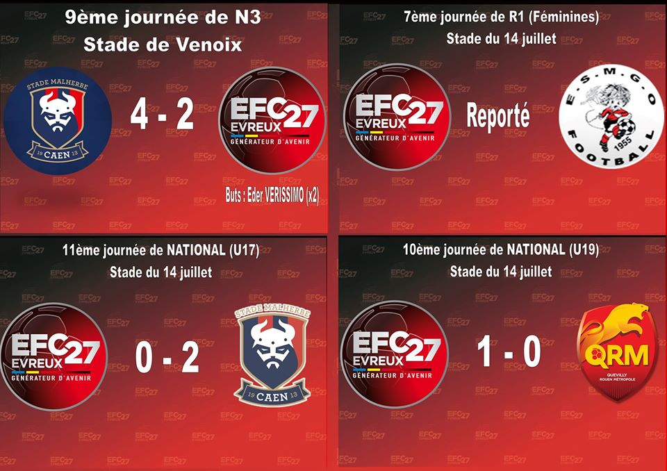 National 3 Foot Calendrier.Evreux Fc 27 Site Officiel Du Club De Foot De Evreux Footeo