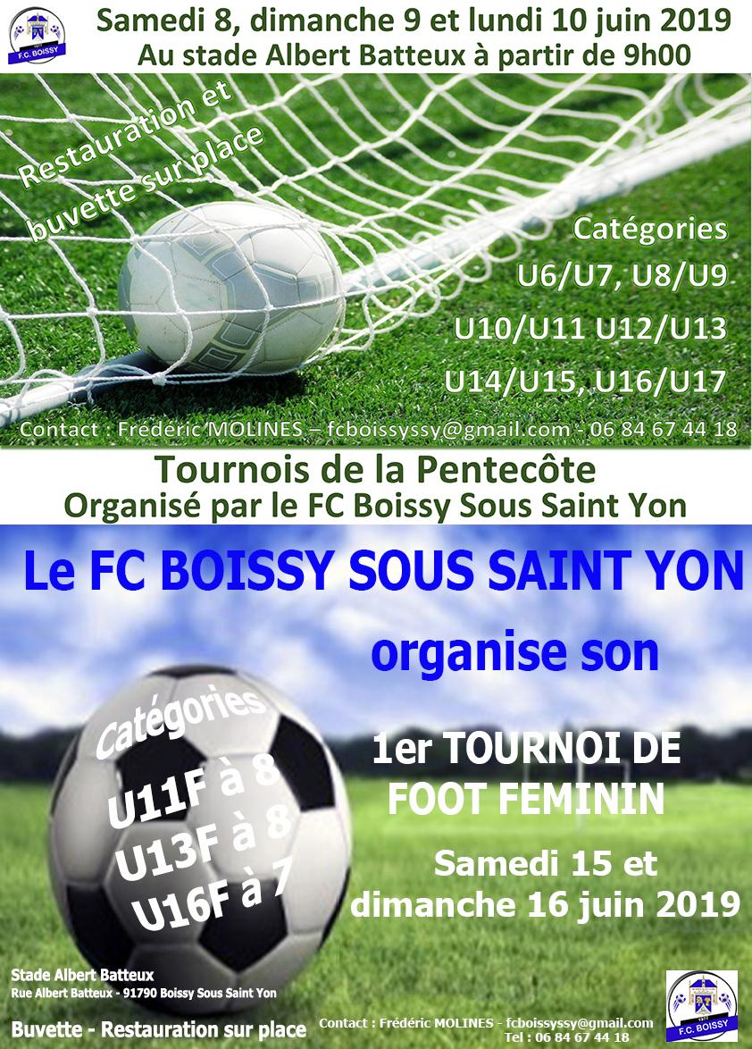 Tournois 2019 du FC Boissy