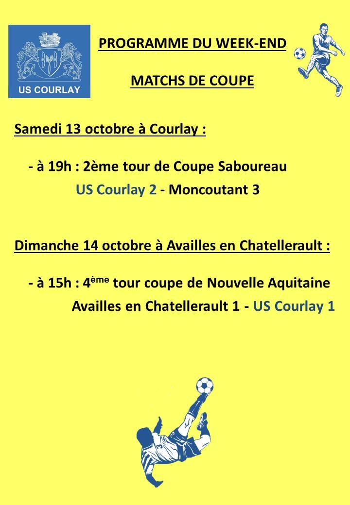 2018_10_11 Matchs_au_programme_du_week_end