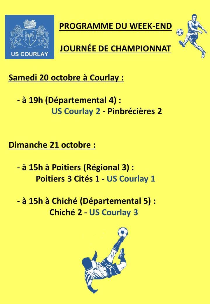 2018_10_18 Matchs_au_programme_du_week_end