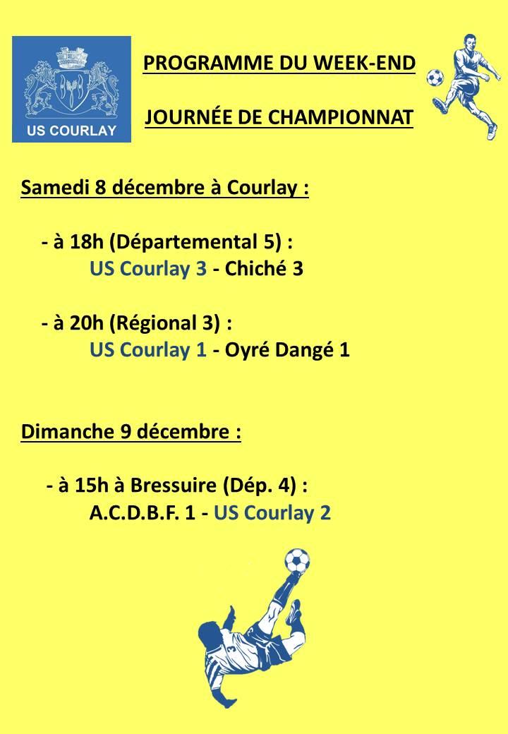 2018_12_06 Matchs_au_programme_du_week_end
