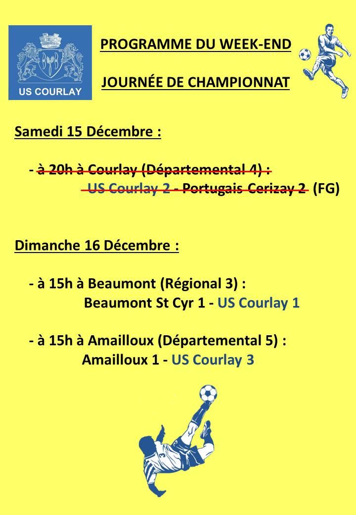 2018_12_13 Matchs_au_programme_du_week_end