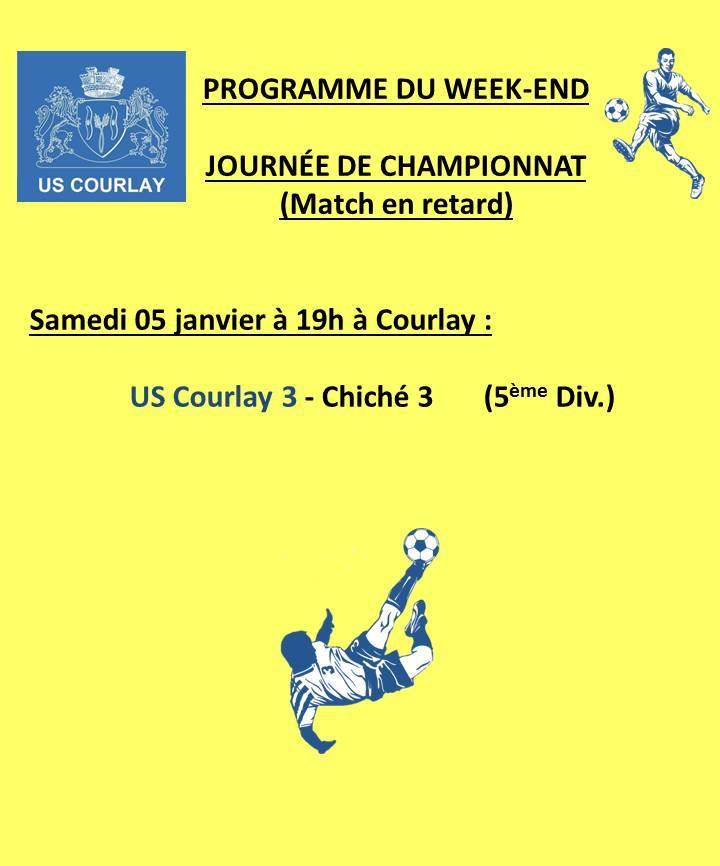 2019_01_03 Matchs_au_programme_du_week_end