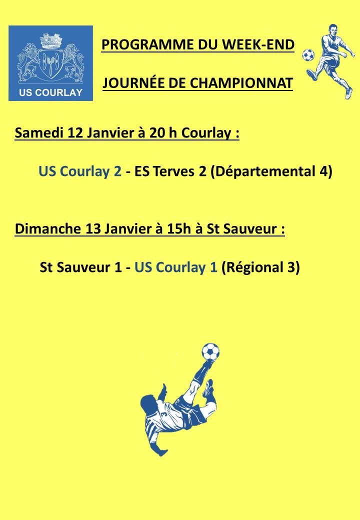 2019_01_10 Matchs_au_programme_du_week_end